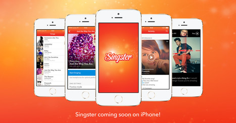 Singster | Ipad Apps and Ideas for Music Education | Scoop.it