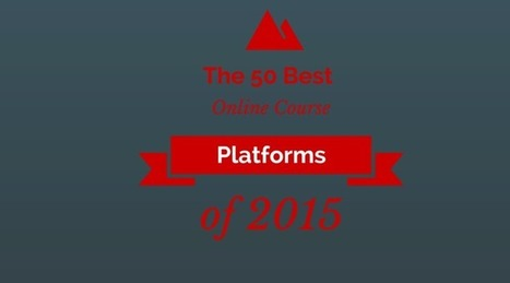 The 50 Best Online Course Platforms of 2015 | IELTS, ESP, EAP and CALL | Scoop.it