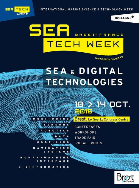 La Sea Tech Week ouverte sur le monde | Brest et Brest métropole : portail de veille de l'ADEUPa | Scoop.it