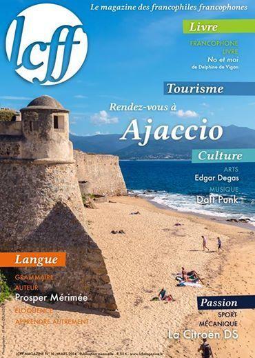 Nouveau LCFF Magazine : Rendez-vous à Ajaccio pour le numéro du mois de mars ! | Odyssea : Escales patrimoine phare de la Méditerranée | Scoop.it