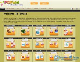 PDFaid : une boite à outils pour le PDF en ligne | Outils 2.0 | Scoop.it