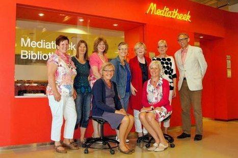 60 jaren vrijwilligerswerk in de mediatheek Gymnasium - DeStadGorinchem.nl | Schoolmediatheken | Scoop.it