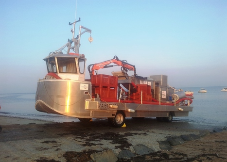 French launch prototype algae collection vessel - Maritime Journal   All about algae   Scoop.it