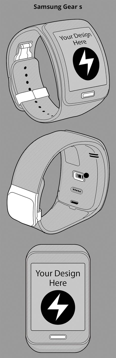 Mobile Mockup PSD: 75 items, Line Style. - Design Shock | freebies | Scoop.it