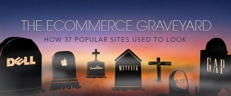 The Ecommerce Graveyard: How 37 Popular Sites Used to Look — Ecommerce Marketing Blog - Ecommerce News, Online Store Tips & More by Shopify | Websites - ecommerce | Scoop.it