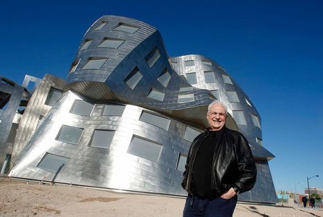 Franck Gehry, entre architecture et urbanisme - Chaise Story | Projet Fondation Luma Arles | Scoop.it