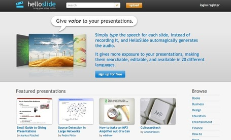 HelloSlide - Bring your slides to life | WEBOLUTION! | Scoop.it