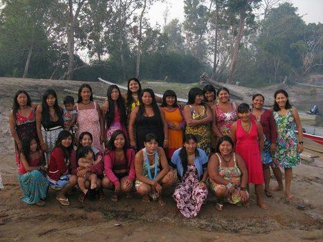 Mulheres Xinguanas cada vez mais fortes por meio da Associação Yamurikumã | CPEI | Scoop.it