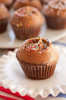 Chocolate Cupcakes with Chocolate Cream Cheese Frosting | Intentando cocinar | Scoop.it
