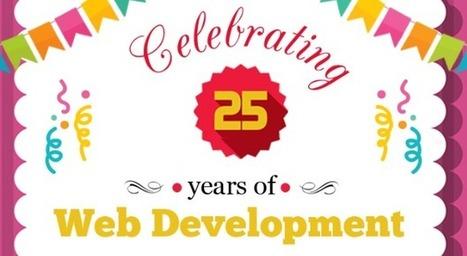 Celebrating 25 Years of Web Development (infographic)   valuecoders   Scoop.it