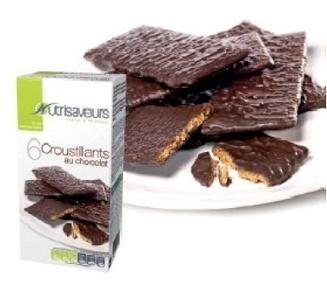 Croustillants au chocolat de la marque Nutrisaveurs | Santé, beauté et bien être : garder la forme | Scoop.it