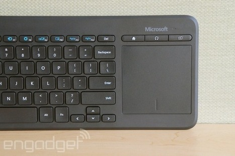 Microsoft's new keyboard is meant to be used with Smart TVs | Gadgets and Technology | Scoop.it
