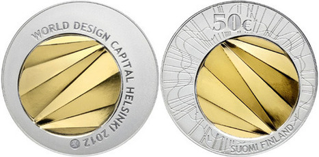 Gold and Silver Coin Celebrates 2012 World Design Capital Helsinki | Coin Update | Finland | Scoop.it