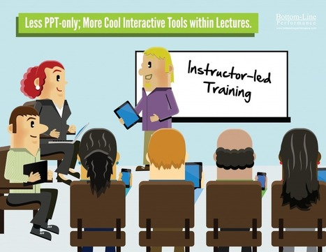 Less PPT Only; More Cool Interactive Tools Within Lectures | LearningPro | Scoop.it