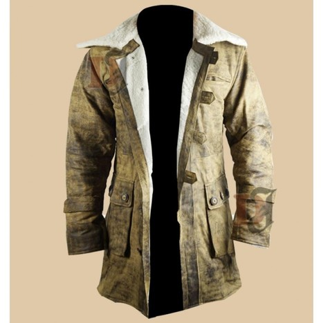Dark Knight Rises Bane Leather Coat   Distressed Jackets   Scoop.it