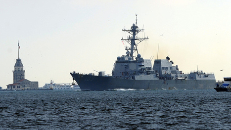 US warship in Black Sea as Ukraine's Crimea readies for referendum | Culture, Humour, the Brave, the Foolhardy and the Damned | Scoop.it