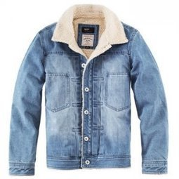 Coverall damaged denim jacket mens with polar fleece lined - $128.00 : Latest Leather Bags, Canvas Bags, Fashion Handbags | personalized canvas messenger bags and backpack | Scoop.it