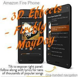 Amazon Fire Phone One-handed Navigation, plus 3D Effects, Firefly, Mayday | Home & Garden | Scoop.it