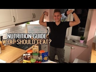 Nutrition guide | How to gain muscles with calisthenics ? | Health And Fitness | Scoop.it