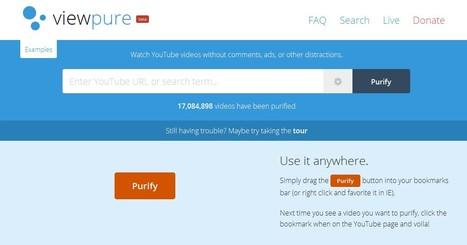 ViewPure / videos without clutter | Réseaux sociaux & eTwinning | Scoop.it