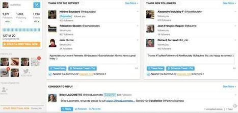 Commun.it. Animez et gérez vos communautés Twitter | Webmarketing & Social Media | Scoop.it