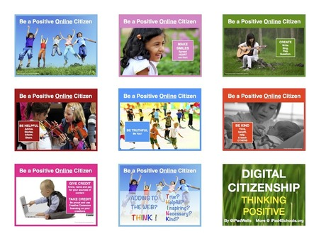 Positive Digital Citizenship | Edtech PK-12 | Scoop.it