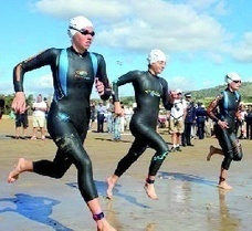 Plus de 400 participants au 3ème triathlon d'Agadir | Agadir | Scoop.it