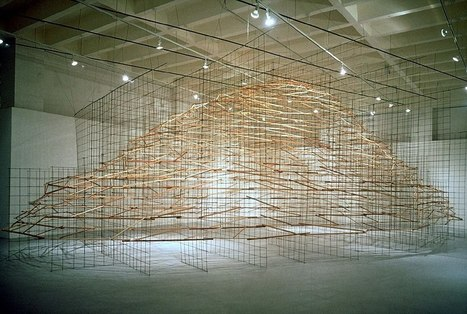 Tom Orr: Floating mountain | Art Installations, Sculpture, Contemporary Art | Scoop.it