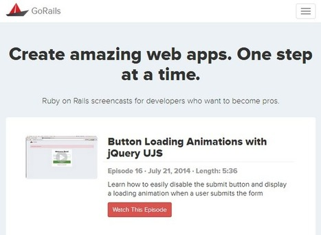 A Series of Screencasts and Guides for Ruby on Rails   Ruby On Rails   Scoop.it