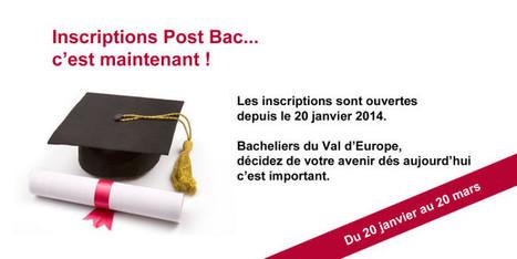 Inscriptions Post Bac, c'est maintenant ! | Orientation post-bac hugo | Scoop.it