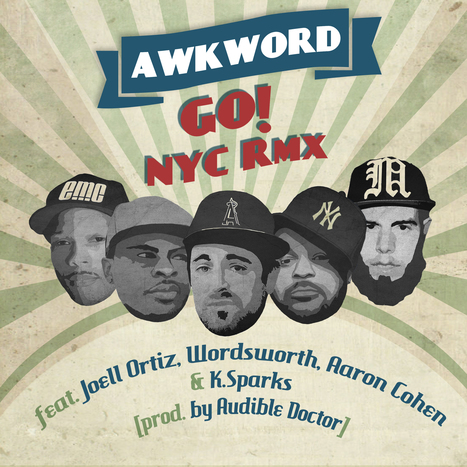 """A 2DopeBoyz Premiere: Audible Doctor RMX of AWKWORD's """"Go!""""   AWKWORD   Important, Re AWKWORD   Scoop.it"""