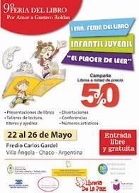 DIRECCION DE BIBLIOTECAS: 1er. Feria del libro Infantil Juvenil en Villa Angela - Chaco | Bibliotecas Escolares Argentinas | Scoop.it