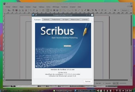 Sortie de Scribus 1.5 | Actualités de l'open source | Scoop.it