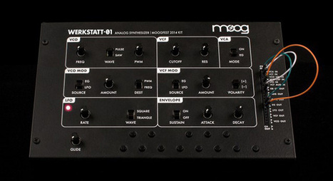 The Werkstatt-Ø1 is an affordable, educational synth kit from Moog   Gear Acquisition Syndrome   Scoop.it