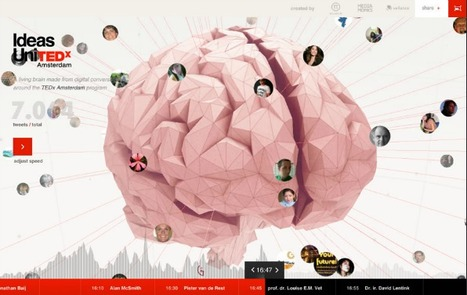 TEDx interactive brain   I wish I'd thought of that   Scoop.it