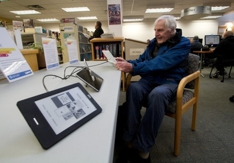 Library users embrace digital wave - Local - Times Colonist | Libraries, HigherEd on an iPad | Scoop.it