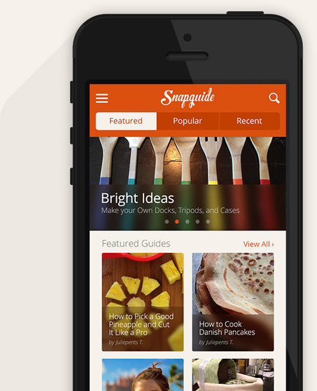 Snapguide - The Best DIY How to Guides   Digital Creative tools   Scoop.it