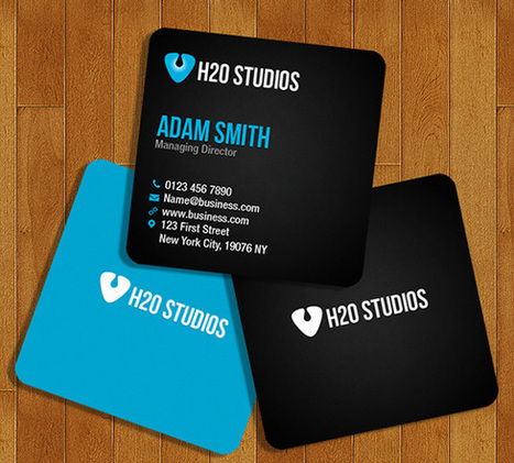 20 Free Printable Business Cards Designs | Business Cards | Scoop.it