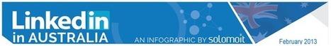 LinkedIn in Australia - An Infographic - solomoIT Academy | LinkedIn Training | Scoop.it