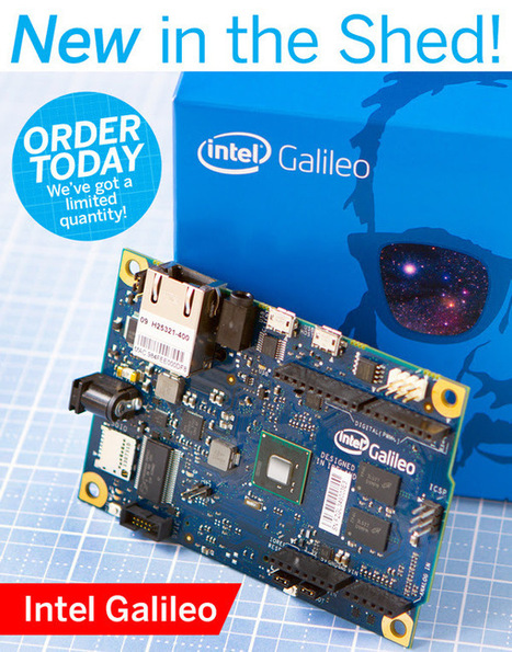 Intel Galileo Available in the Maker Shed | Raspberry Pi | Scoop.it