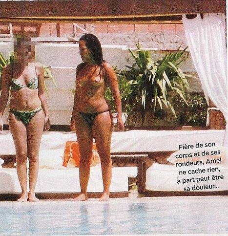 Amel Bent seins nus en vacances ! - photo | Radio Planète-Eléa | Scoop.it