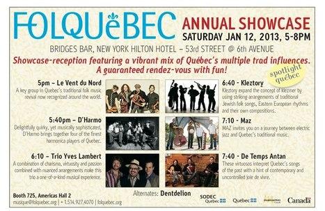 Folquébec rayonne à New York   Québec-New York   Scoop.it