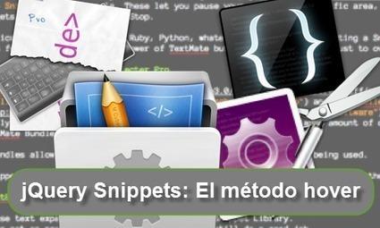 Dominando jQuery: snippets - el método hover | CMS, joomla, wordpress | Scoop.it