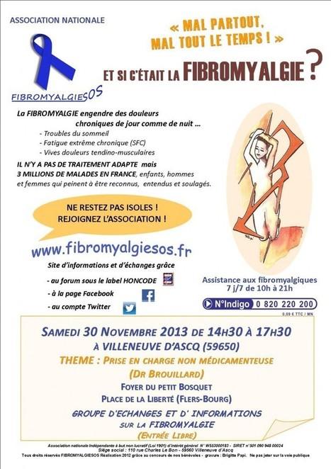 FIBROMYALGIESOS REUNION D'INFORMATION VILLENEUVE D'ASCQ (59) | Site de l'association FibromyalgieSOS | Relaxation Dynamique | Scoop.it