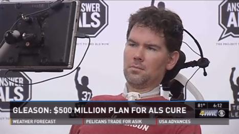 Steve Gleason seeks $500 million to find ALS cure | ALS | Scoop.it