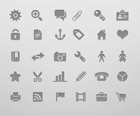 Great Icon Sets: Minimalist | Creative Repository | Mobile Technology | Scoop.it