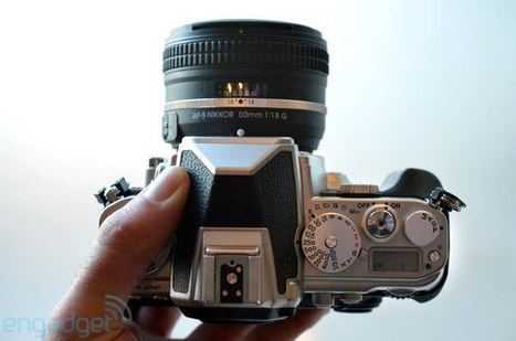 Nikon's $2,750 Df DSLR lets you shoot full-frame digital images like it's 1959 (hands-on) | Nikon DF | Scoop.it