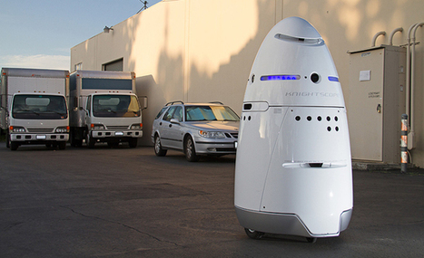 Autonomous, human-sized security robots are almost here | Robots and Robotics | Scoop.it
