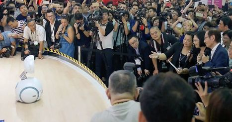 The President of Taiwan tries a quick chat with ASUS' home robot   Heron   Scoop.it
