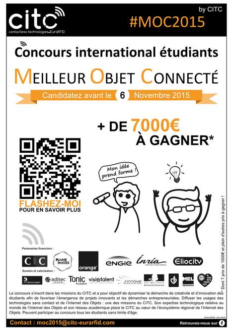 [Concours étudiants] J-9 pour participez au Concours du Meilleur Objet Connecté #MOC2015 !   Internet du Futur   Scoop.it